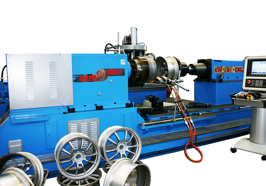 wheel forming machinery